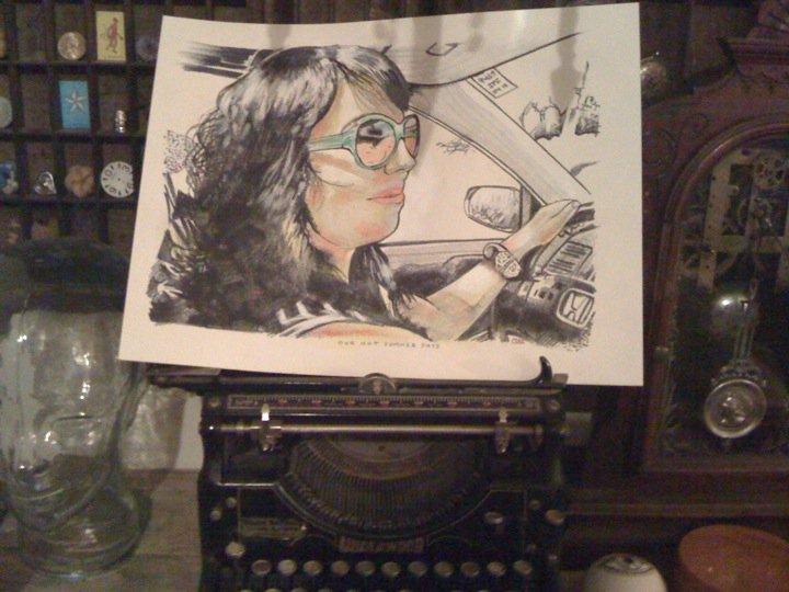 Drawing of Selena